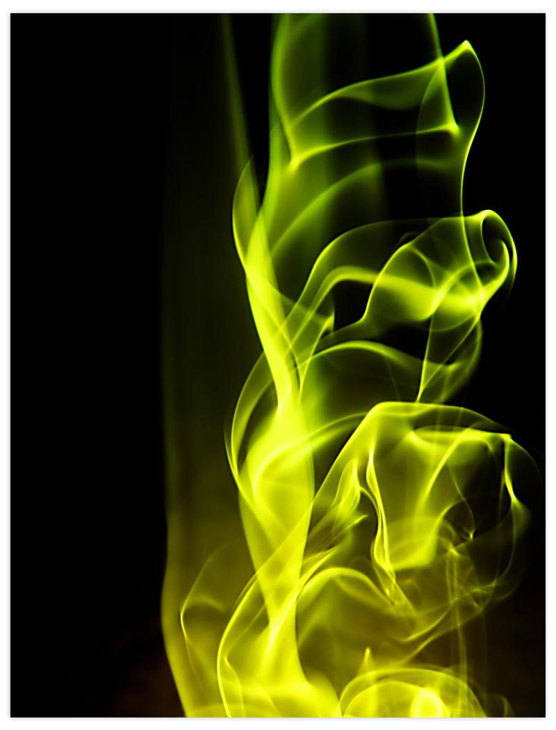 abstrakt dym