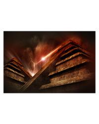 abstrakt pyramidy