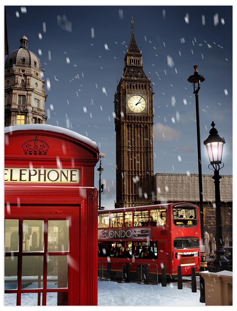 vianoce v londyne